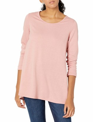 N Natori Women's French Terry Knit Top