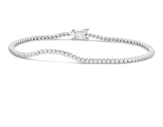 Paul Morelli Diamond Stitch Bracelet in 18K White Gold