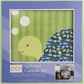 CoCalo Turtle Reef Crib Canvas Wall Art (Set of 3)