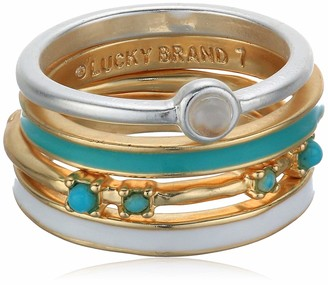 Lucky Brand Jewelry Turquoise Stack Rings