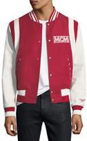 MCM Logo Stadium Jacket