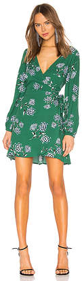 Cupcakes And Cashmere Mystique Wrap Dress