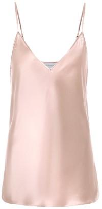Lee Mathews Stella silk-satin camisole