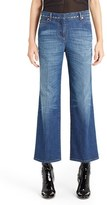 Valentino Women's Studded Wide Leg Jeans
