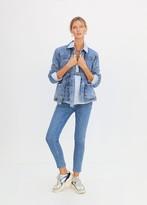 MANGO Mid-rise jeans medium blue - S - Women