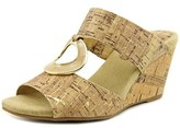 Easy Street Shoes Ever Women Open Toe Synthetic Wedge Sandal.