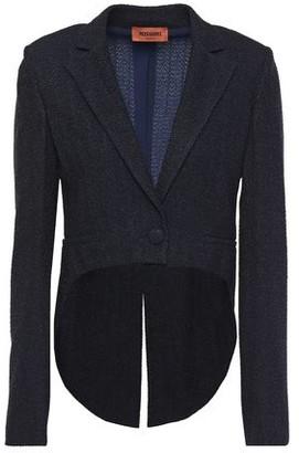 Missoni Cropped Metallic Boucle-knit Blazer