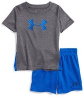 Under Armour Infant Boy's Tilt Shift Heatgear T-Shirt & Shorts Set