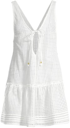 SUBOO Edie Ruffled Lace Cover-Up