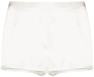 La Perla Silk-Satin Night Shorts