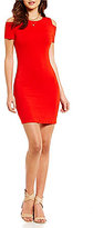 1 STATE Cold Shoulder Bodycon Dress