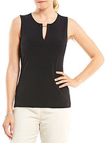 Kasper Bar-Neck Knit Cami