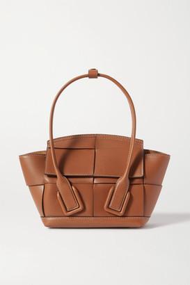 Bottega Veneta Arco Mini Intrecciato Leather Tote - Brown