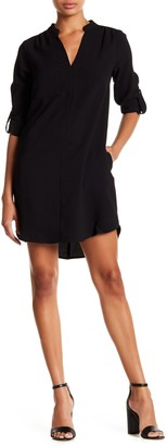 Lush Novak 3/4 Length Sleeve Shift Dress