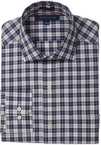 Tommy Hilfiger Men's Regular Fit Non Iron Plaid