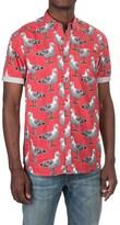 Artistry in Motion Seagulls Poplin Shirt - Short Sleeve (For Men)