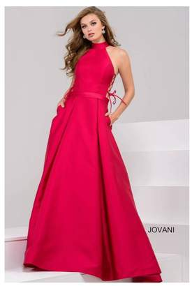 Jovani Pink Ball Gown