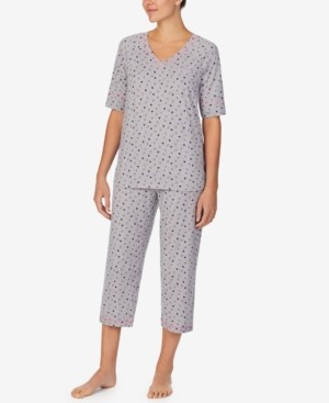 Cuddl Duds Cuddl Smart Printed Capri Pajamas Set