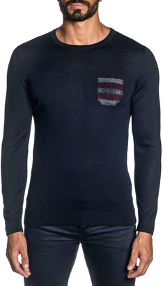 Jared Lang Men's Knit Pullover Sweater