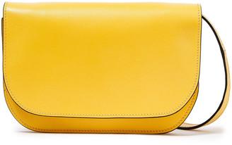 Marni Minuet Textured-leather Shoulder Bag