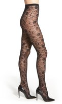 Dim Women's Floral Lace Tights