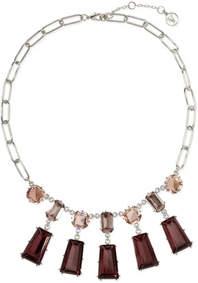 Vince Camuto Geo Jeweled Necklace