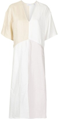 Equipment Josee V-neck dress