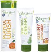 Green Baby Episencial Babytime! Skin Care Set - Wash, Sunscreen & Cream