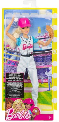 Mattel Barbie(R)? Baseball Player Doll