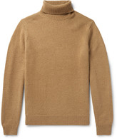 Todd Snyder - Camel Hair Rollneck Sweater