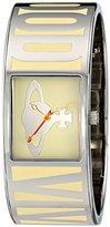 Vivienne Westwood Women's VV084CM Bond Analog Display Swiss Quartz Silver-Tone Watch