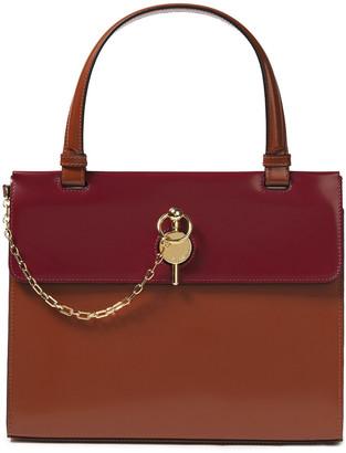 J.W.Anderson Frame Keyts Two-tone Leather Shoulder Bag