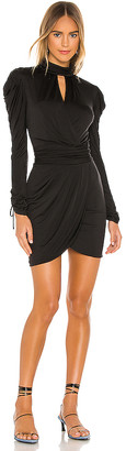 JONATHAN SIMKHAI STANDARD Remy Mockneck Mini Dress