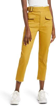 J.o.a. Belted Solid Pants