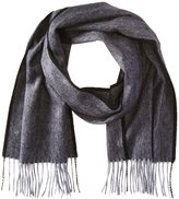 Phenix Cashmere Men's Small Herringbone Scarf
