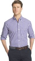 Izod Men's Advantage Regular-Fit Check Woven Button-Down Shirt
