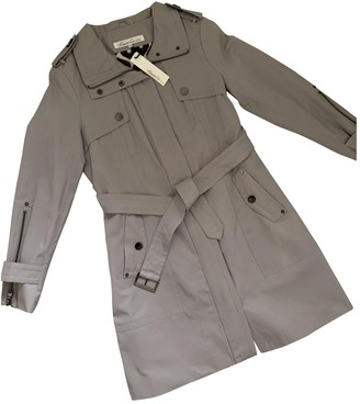 Kenneth Cole Grey Cotton Coat for Women