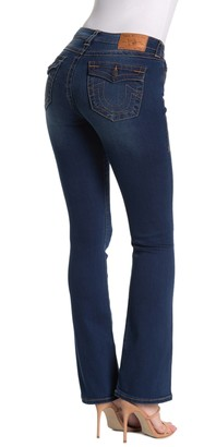 True Religion Becca Mid Rise Bootcut Jeans