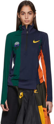 Nike Multicolor Sacai Edition NRG Half-Zip Running Jacket