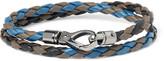 Tod's - Scooby Braided Leather Wrap Bracelet