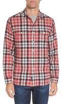 Grayers Men's Brampton Textured Plaid Flannel Shirt