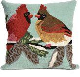 Liora Manné Cardinals Indoor/Outdoor Throw Pillow in Sky