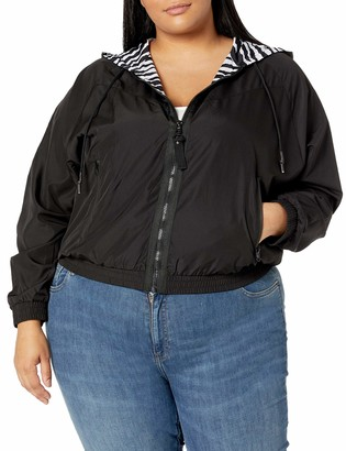 Forever 21 Women's Plus Size Zip-Up Jacket