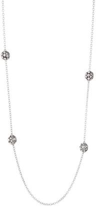John Hardy Dot Sterling Silver Station Necklace