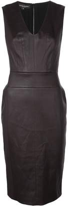 Narciso Rodriguez V-neck fitted dress