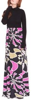 Olian Women's 'Claire' Maternity Maxi Dress