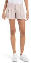 ATM Anthony Thomas Melillo Women's Pleated Linen Shorts