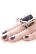 Low Luv by Erin Wasson Cage Ring in Silver