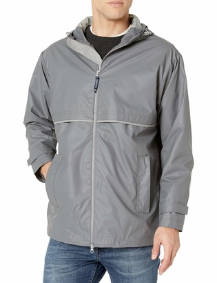 Charles River Apparel Men's New Englander Waterproof Rain Jacket (Reg & Ext Sizes)