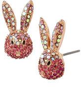 Betsey Johnson Celestial Starlet Bunny Stud Earrings